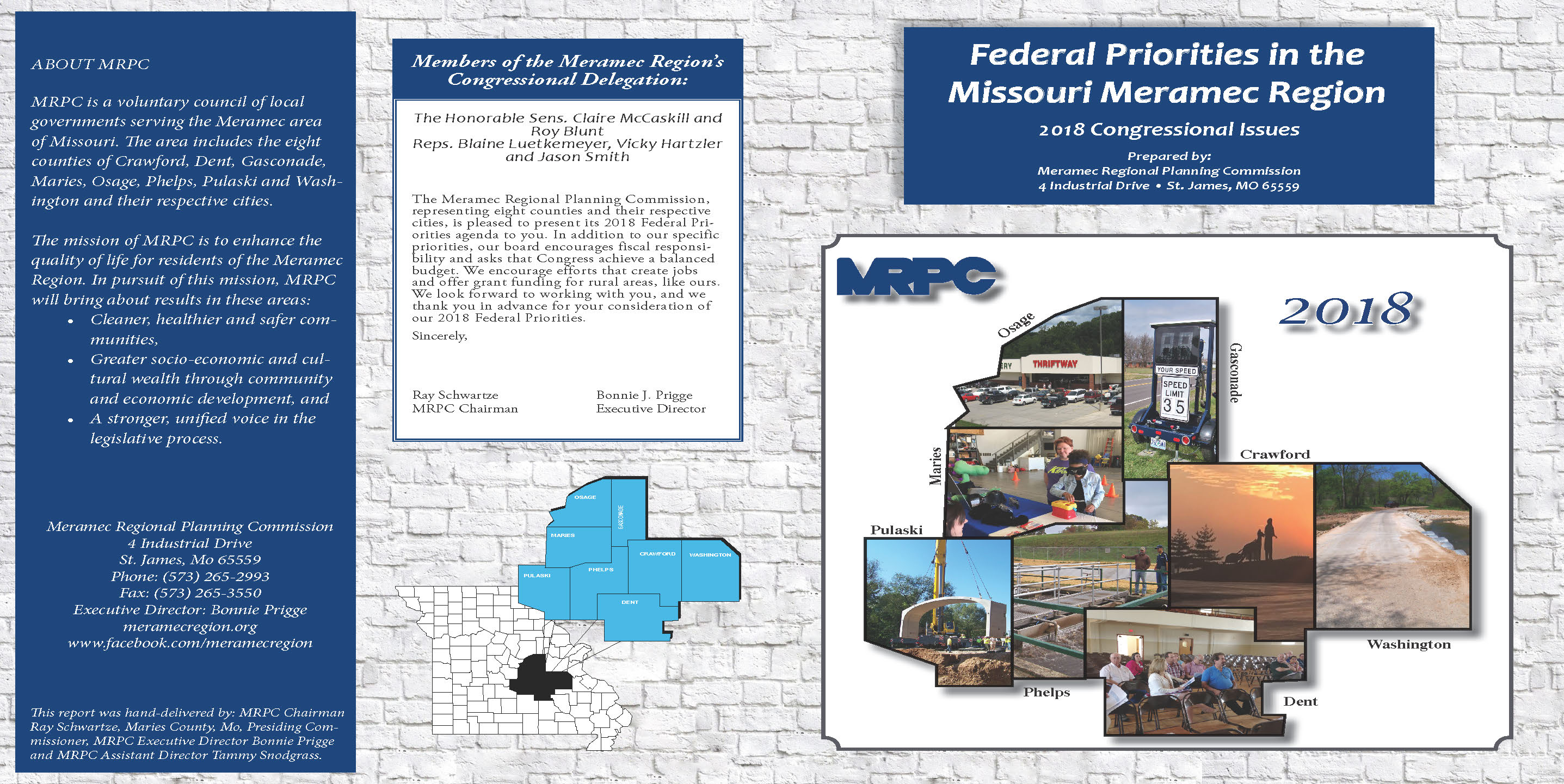 2018 Federal Priorities Cover