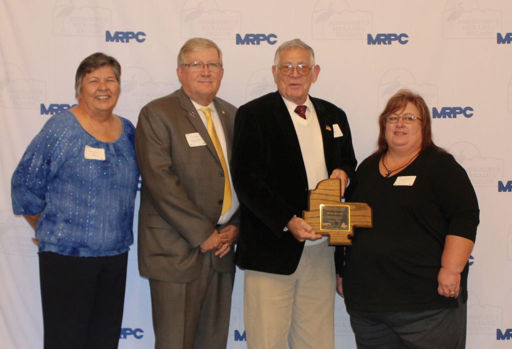 Seevers honored as outstanding volunteer