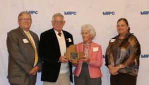 Brenner honored as outstanding volunteer