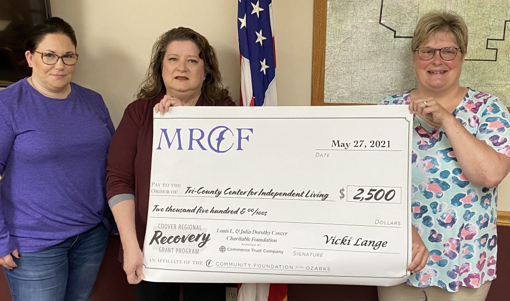 Tri-County receives COVID grant