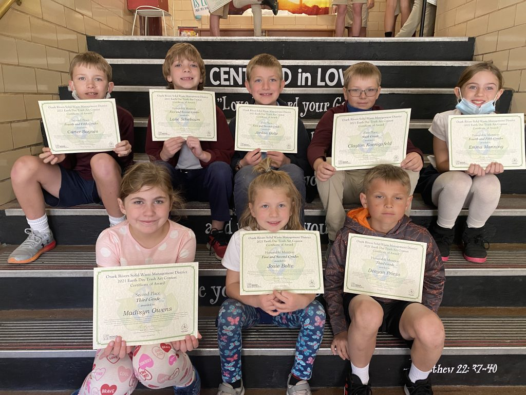 Hermann Elementary Winners